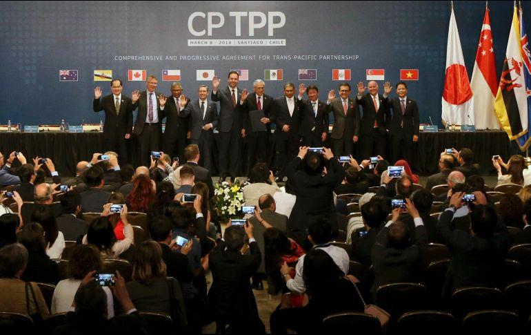 México y diez países más firman el nuevo TPP 11