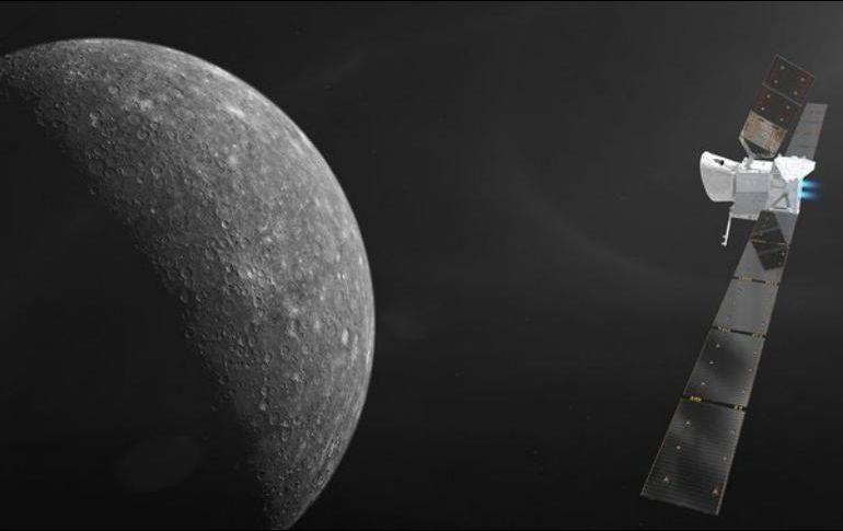 La Agencia Espacial Europea avanza con éxito en primera misión a Mercurio