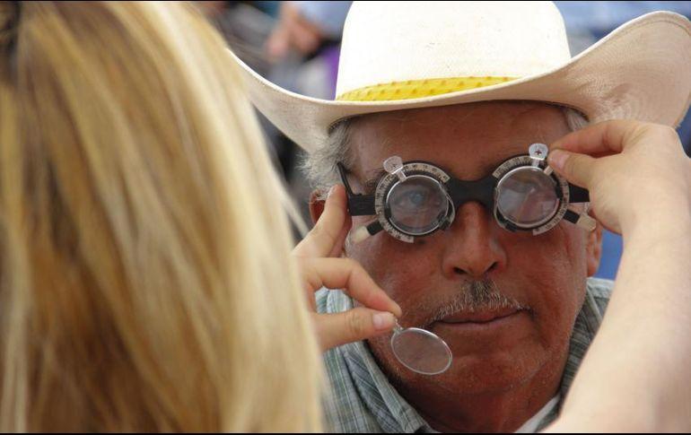 Chequeos gratuitos en todo el país — Prevención del Glaucoma