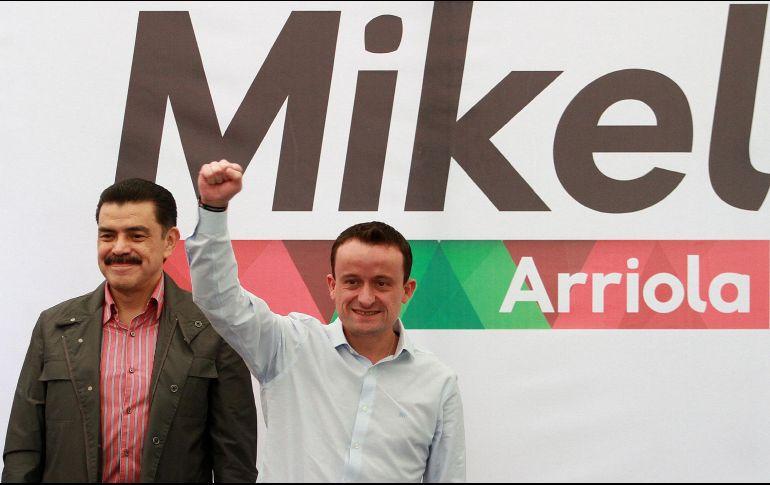 Mikel Arriola va solo con el PRI por la CDMX; descarta alianza