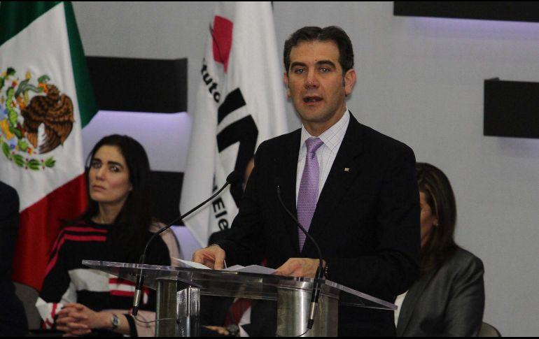 Lorenzo Córdova rechaza ser funcionario de casilla; tiene que trabajar ese día