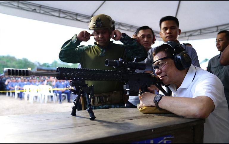 Filipinas notifica a la ONU su retirada de la CPI