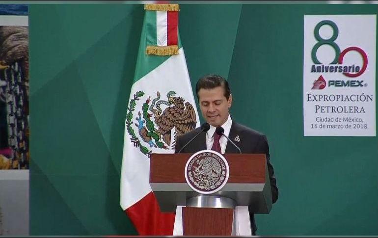 Regresar al pasado o preservar el presente, las alternativas: Peña Nieto