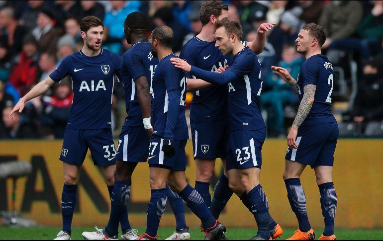 Tottenham avanzó a semis de Copa FA al vencer al Swansea