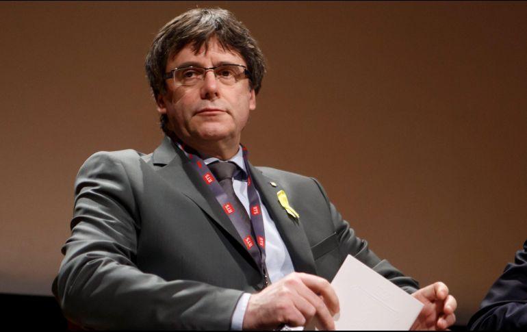 Puigdemont señaló que la independencia no es la solución para Cataluña