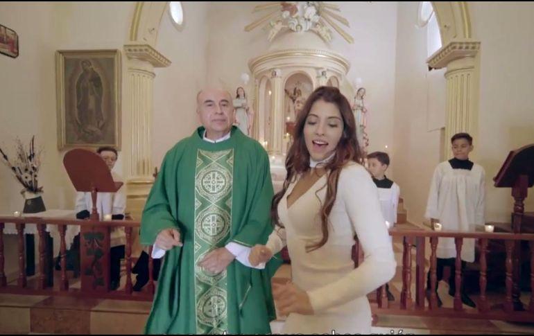 Sin permiso, grabación de video de La Niña Bien en capilla: Arquidiócesis