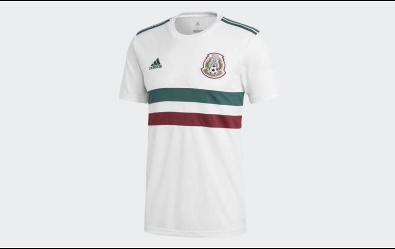 Revelan uniforme de visitante de la Selección Mexicana para el Mundial dc70b4a7141f5