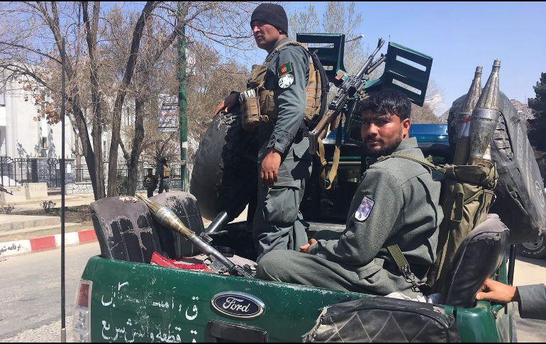 El Estado Isámico asume la autoría del atentado suicida en Kabul