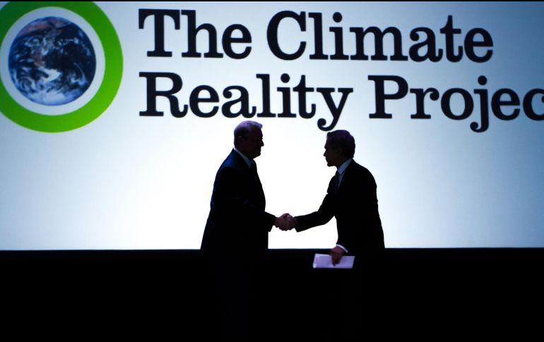 En la Ciudad, AMLO dialoga con Al Gore sobre el medio ambiente