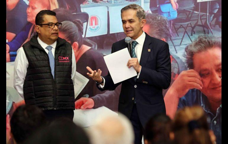 Mancera se va el fin de semana de la CDMX — Oficial