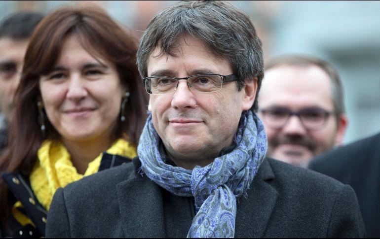 Detuvieron en Alemania al líder Carles Puigdemont
