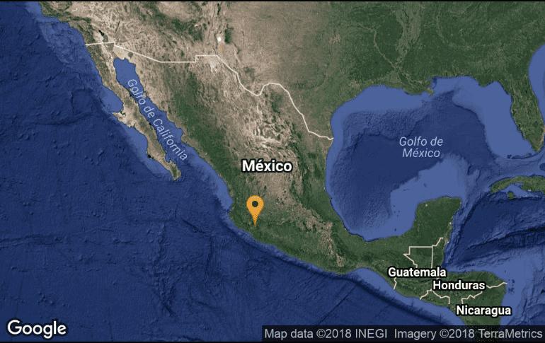 Se registra sismo de 4.3 en Tecalitlán Jalisco