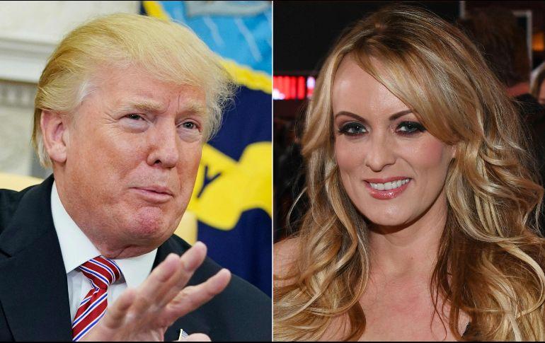La actriz porno Stormy Daniel denunció haber sido víctima de una amenaza directa después de hablar con una revista sobre su relación con Trump en 2011. AFP / ARCHIVO