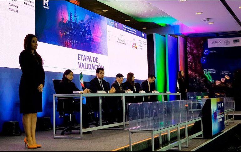 Pemex con mayoría en licitación petrolera en México