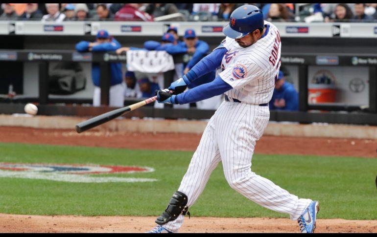 Adrián González tuvo un debut 'titánico' con los Mets de Nueva York