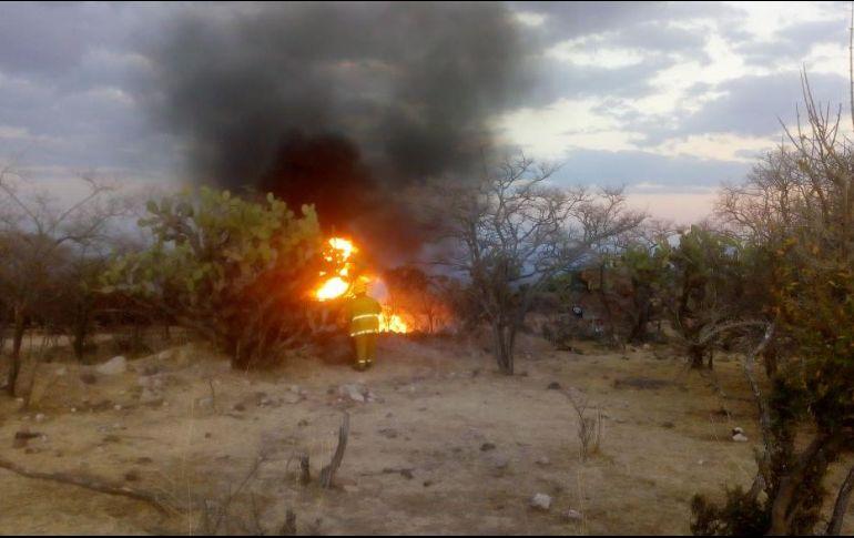 Incendio en ducto en Lagos de Moreno deja un muerto