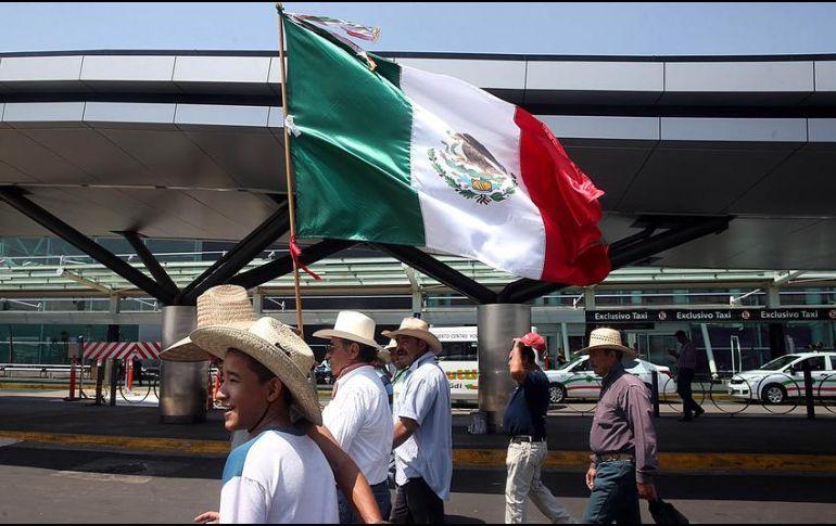 La SCT se encuentra en conflicto con ejidatarios de El Zapote por la supuesta falta de pagos de terrenos utilizados para la construcción del aeropuerto. EL INFORMADOR / ARCHIVO