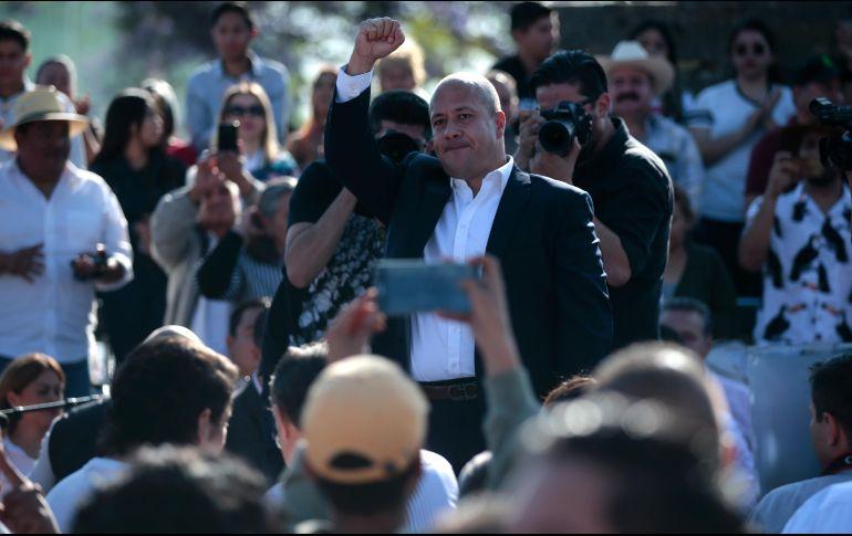 23f8541f1 El arranque de campaña de Alfaro se celebró en la plaza de la República en  Guadalajara