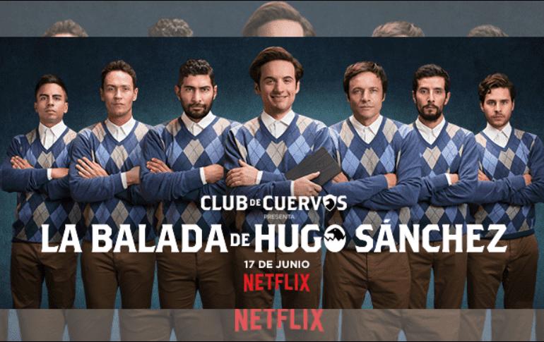 Hugo Sánchez de ´Club de Cuervos´ tendrá su propia serie