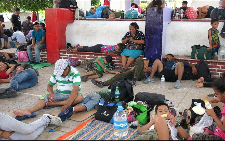 Resultado de imagen para caravana migrante en mexico