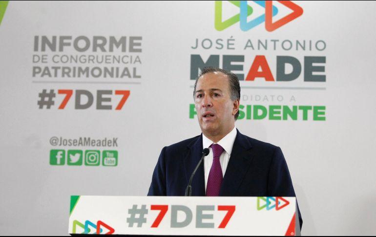 Elecciones 2018: 3de3 de Meade pondrá pálidos a AMLO y Anaya