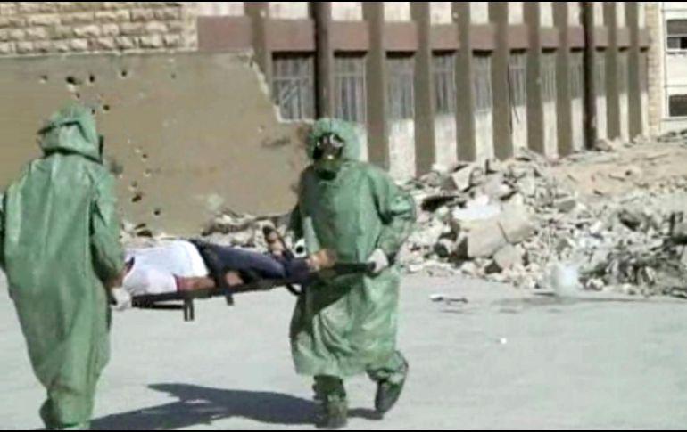 Confirman que 500 sirios fueron atendidos con síntomas de ataque químico