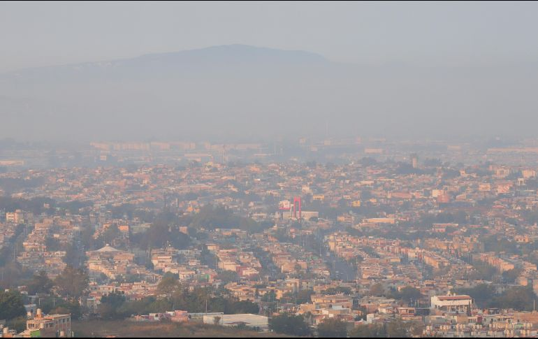 Activan Alerta Atmosférica por incendio en Bosque La Primavera de Jalisco (VIDEOS)