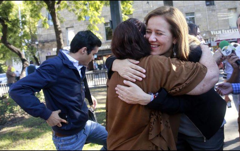 Asegura Calderón que Zavala todavía puede remontar en la elección presidencial
