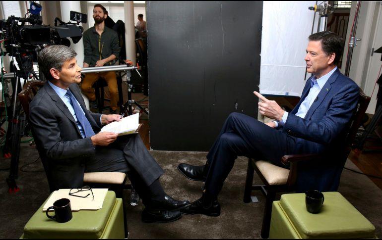 La entrevista, de la cual ya se habían divulgado diversos extractos a lo largo de los últimos días, había levantado una gran expectación. AP /R. Alswang/ABC