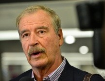 Vicente Fox ha comentado que