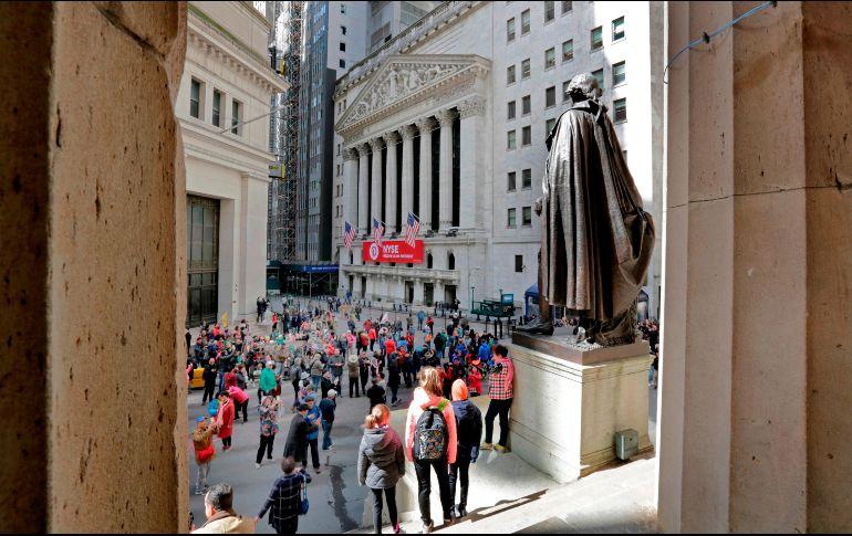 Wall Street abre al alza a una escalada del conflicto en Siria