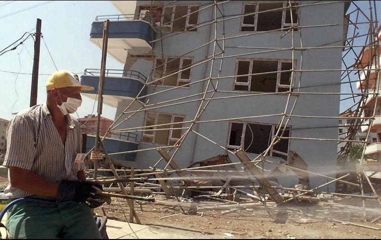 Se registra sismo en Turquía