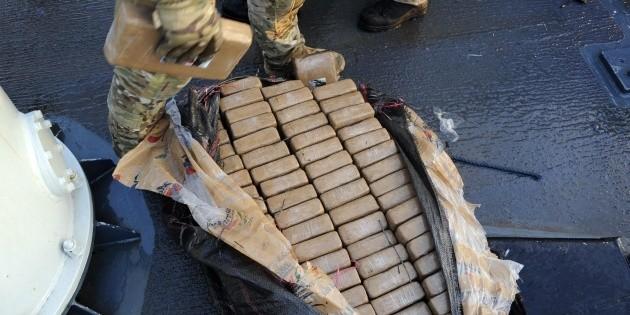 Decomisan en España nueve toneladas de cocaína