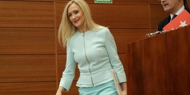 Dimite la presidenta de la región de Madrid tras escándalos