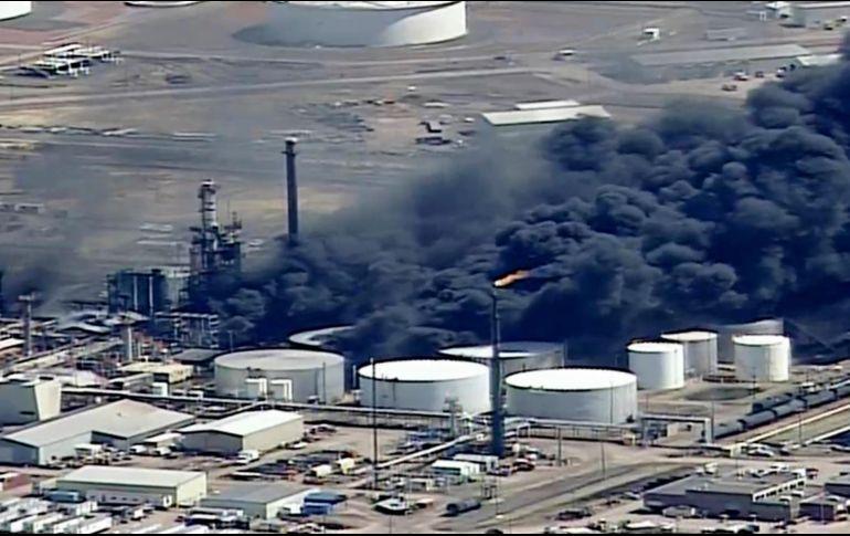 Reportan explosión en refinería de Wisconsin