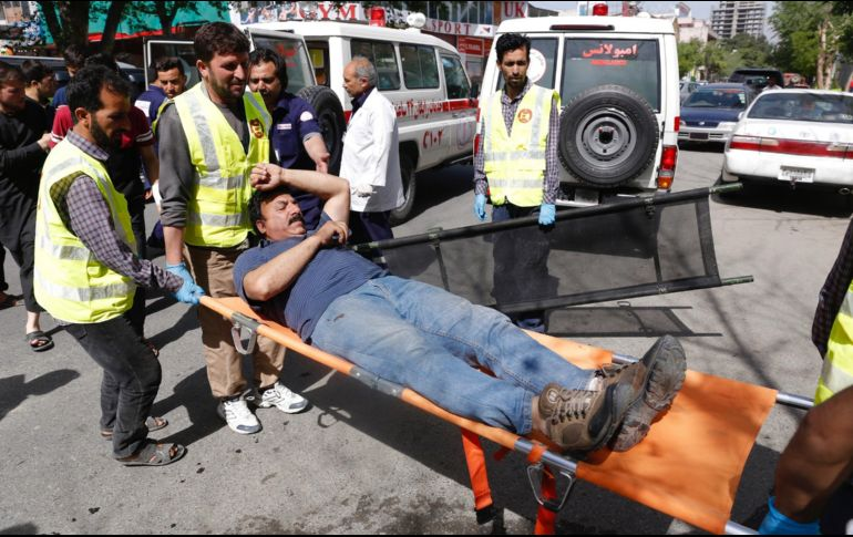 Al menos 45 muertos y varios heridos tras doble atentado en Kabul
