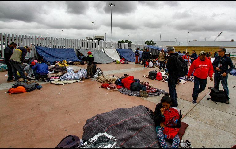 EU acepta ingreso de 25 miembros de la Caravana de Migrantes