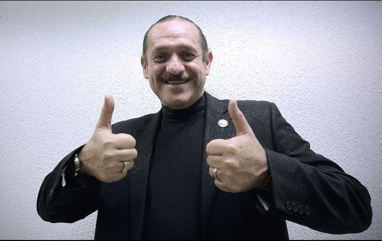 """Teo González comprte escenario con Jorge Falcón en """"2 comediantes con madre"""". EL INFORMADOR/Archivo"""