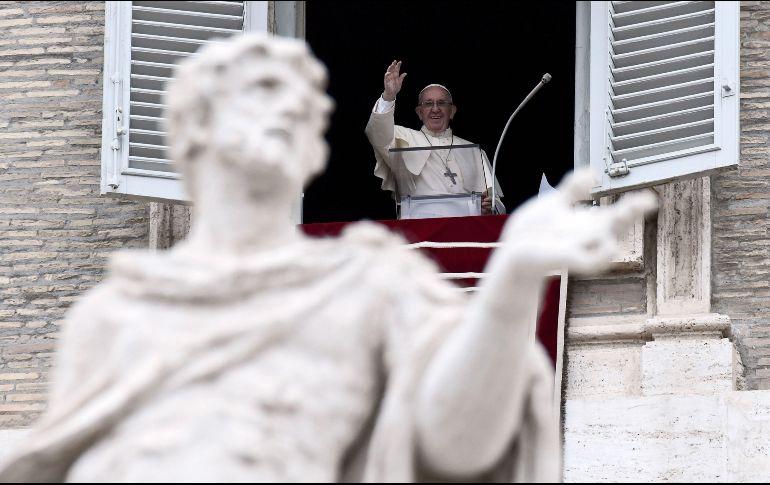 El papa Francisco volvió a pronunciarse contra el aborto y la eutanasia