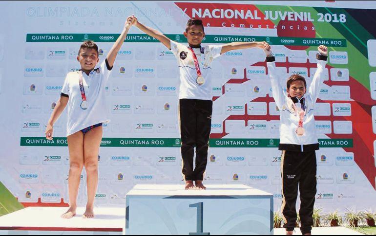 Van 158 morelenses por medalla a Olimpiada Nacional