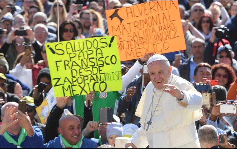 Papa preocupado por la espiral de violencia en Tierra Santa