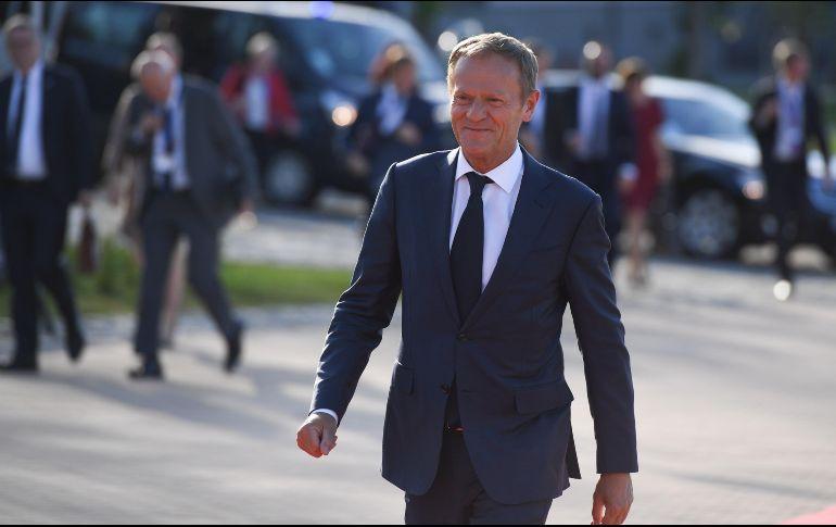 El presidente del Consejo Europeo critica la actitud