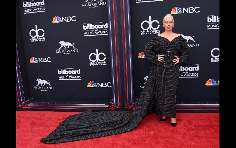 Christina Aguilera. AFP / L. O'Connor