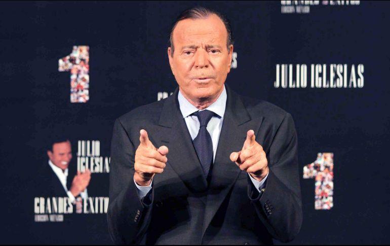 Disney producirá serie de televisión sobre Julio Iglesias