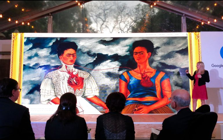 Google lanzó exhibición virtual de obras y objetos de Frida Kahlo