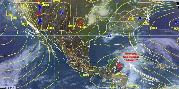 Pronostican 32 fenómenos en temporada de ciclones tropicales en México