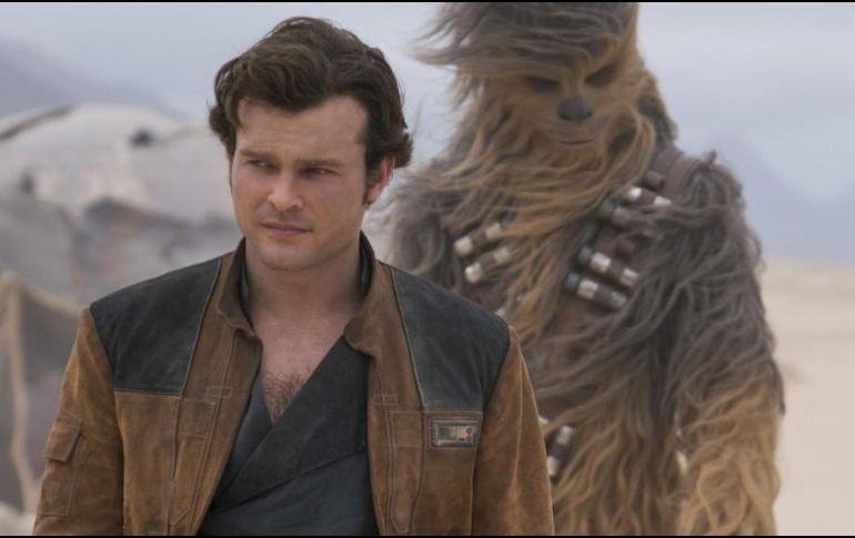 Disney estimó que el spin-off de Han Solo recaudaría hasta 150 millones de dólares. TWITTER / @starwars