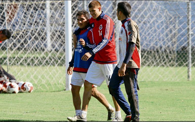 ¡Vean el apoyo que están dando jugadores de Chivas a Matías Almeyda!