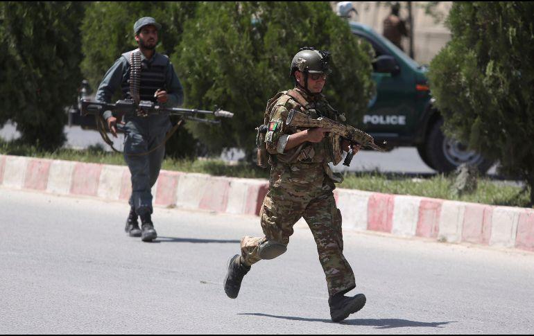 Al menos 11 muertos por ataque al Ministerio de Interior en Afganistán