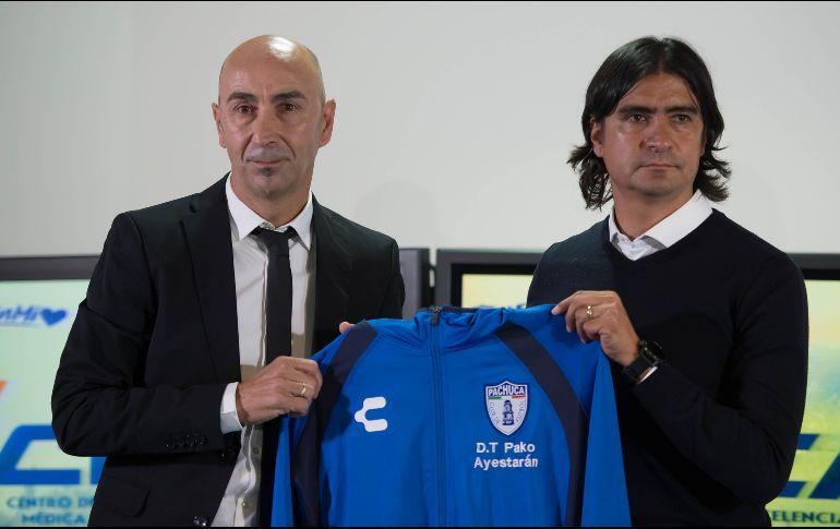 El técnico español destacó la filosofía del Club Pachuca e indicó que el objetivo es seguir proyectando jugadores. MEXSPORT  J. Ramírez